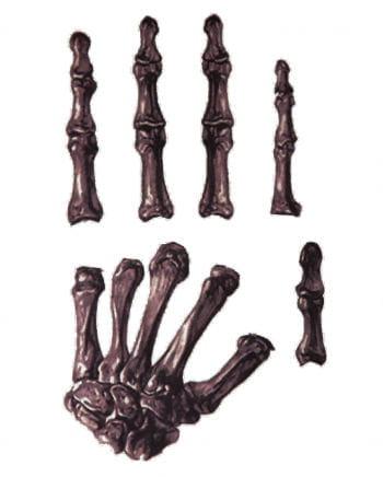 Handtattoo Skelett
