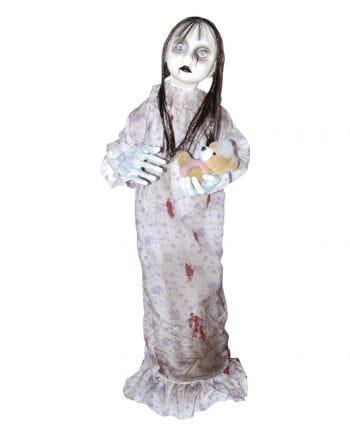 Creepy Doll with Teddy