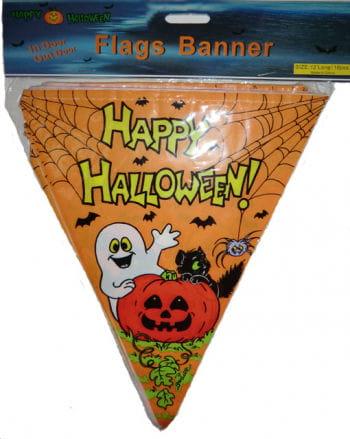 Happy Halloween Flaggen Girlande