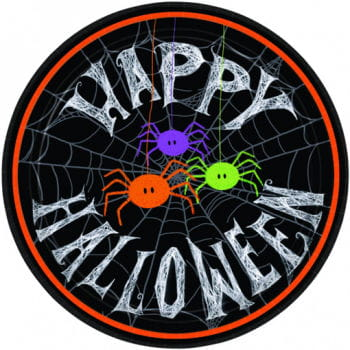 Happy Halloween Pappteller