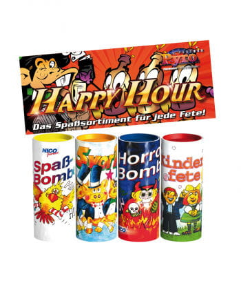 Happy Hour Tischbombe Set of 4