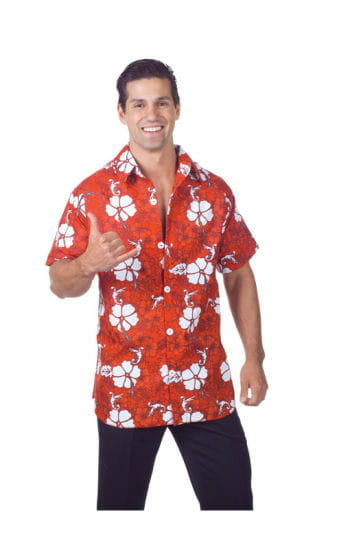 Hawaiian Shirt Red