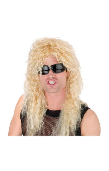 Headbanger blond wig