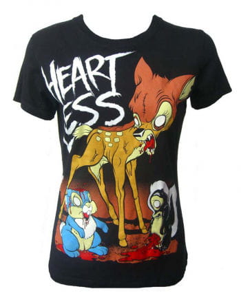 Heartless T-Shirt Zombie Bambi