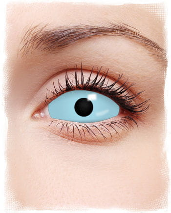 Sclera contact lenses light blue