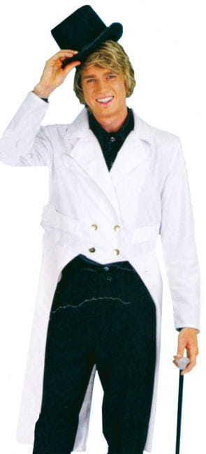 Men Tailcoat White