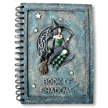 """Hexen Notizbuch """"Book of Shadows"""""""