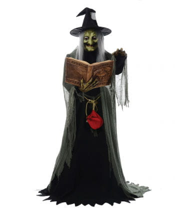 Witch figure with spell & Exercise