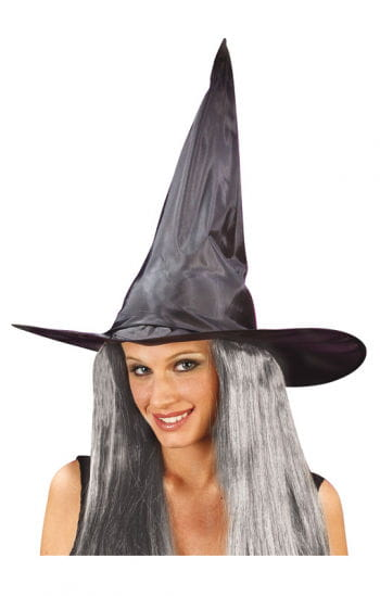 Witch Hat with Witch Hair