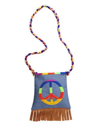 Hippie Tasche Kostümzubehör