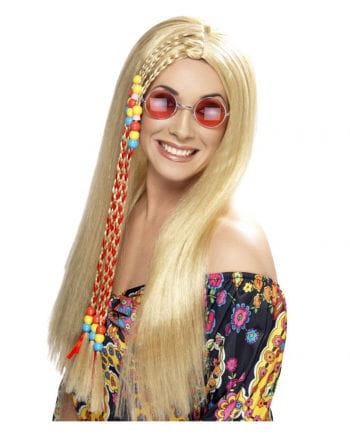 Hippie Perücke blond