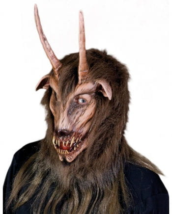 Hellbiest mask with horns