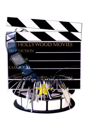 Hollywood table decoration