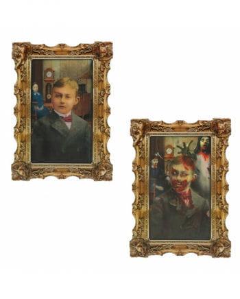 Hologram Portrait Zombie Boy