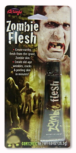 Horror Flesh Make Up Grey