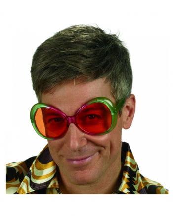 Colorful 70s retro glasses