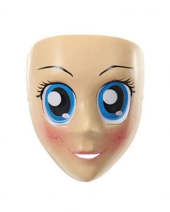 Anime Half Mask - Blue Eyes