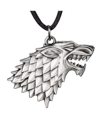 Game of Thrones - Stark Crest Schattenwolf chain