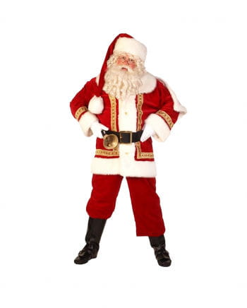 Luxus Weihnachtsmann Kostüm
