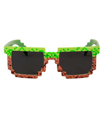 Pixel joke glasses 8 bit