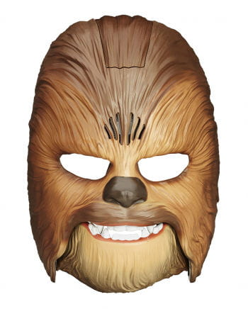 Chewbacca Wookiee mask with sound