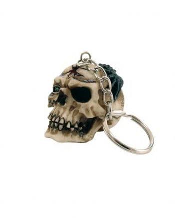 Skull & Spider Keychain