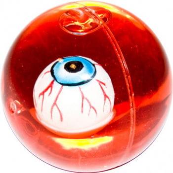 Flummi mit blutigem Auge