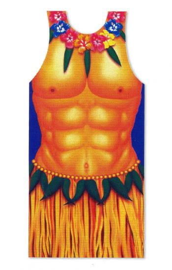 Hula Man BBQ Apron