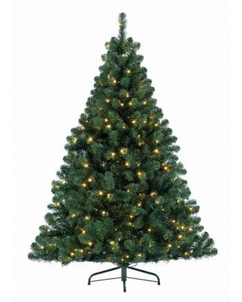 Festive Christmas tree with fairy lights 180 cm