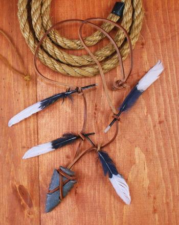 Indianer Krieger Kette mit Pfeilspitze