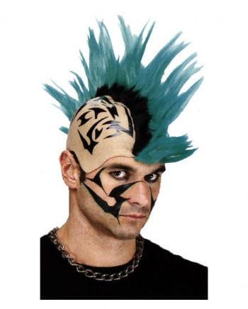 Tattoo Punk Wig Green