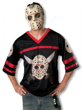 Jason costume with mask