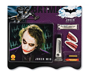 Joker Perücke und Make up Kit