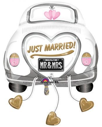 Just Married Car Folienballon