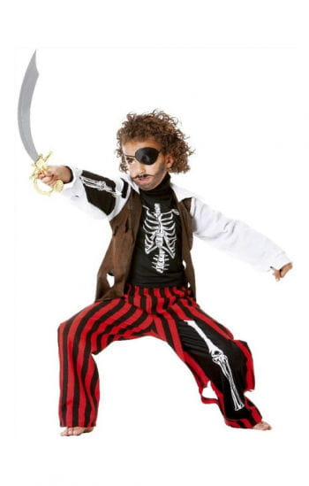 Skeleton Pirate Child Costume