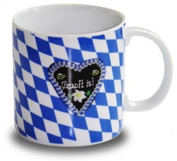 Kaffeebecher O`zapft is