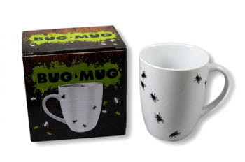 Coffee Mug with Flies