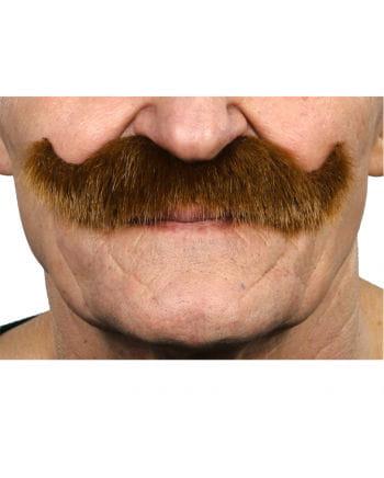 Kaiser Wilhelm mustache maroon