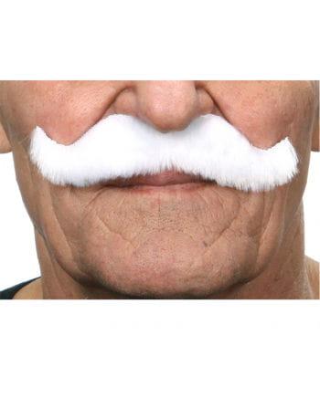 Kaiser Wilhelm mustache white
