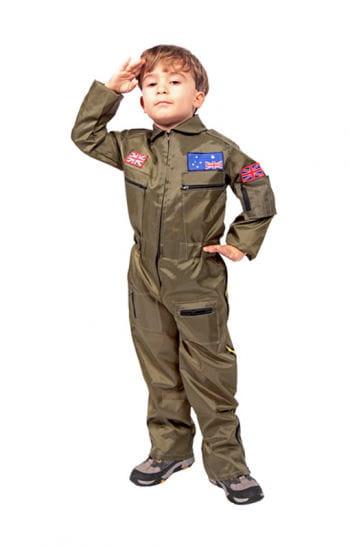 Kampf-Pilot Kinderkostüm
