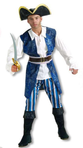 Caribbean Pirate Costume M