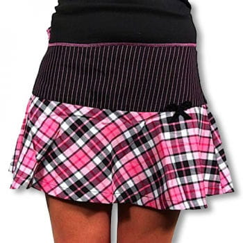 Punk Mini Skirt pink