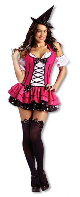 Zuckerscharfes Hexen Kostüm Xtra Small