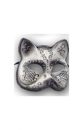 Cat Mask Silver