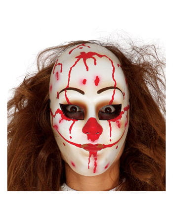 Killer Clown Face Mask