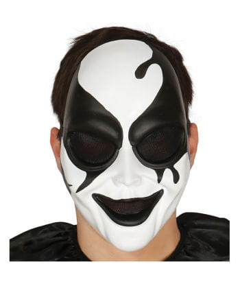 Killer harlequin face mask