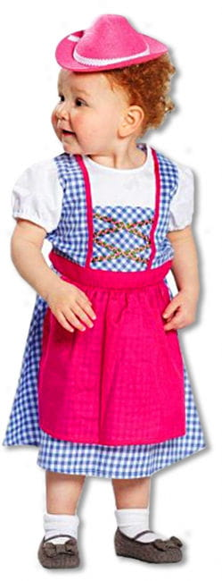 Child Dirndl Costume Heidi