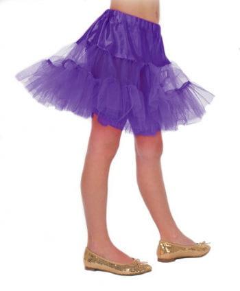 Kinder Petticoat violett