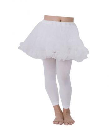 Kinder Petticoat weiß