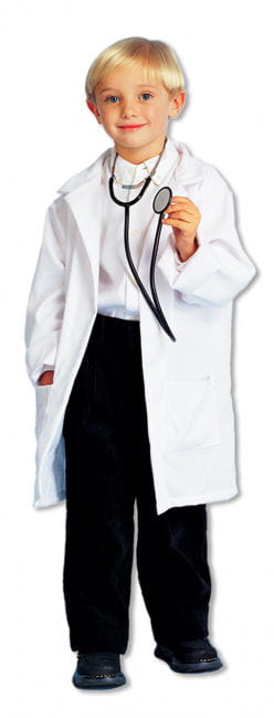 Child Doctor Coat White M